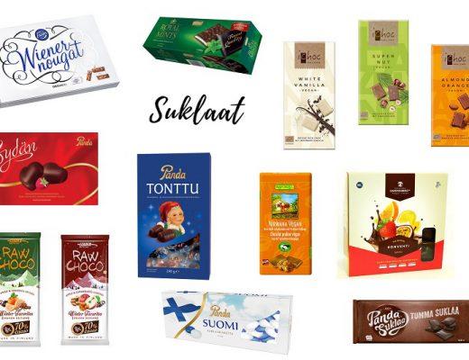 vegaaniset suklaat