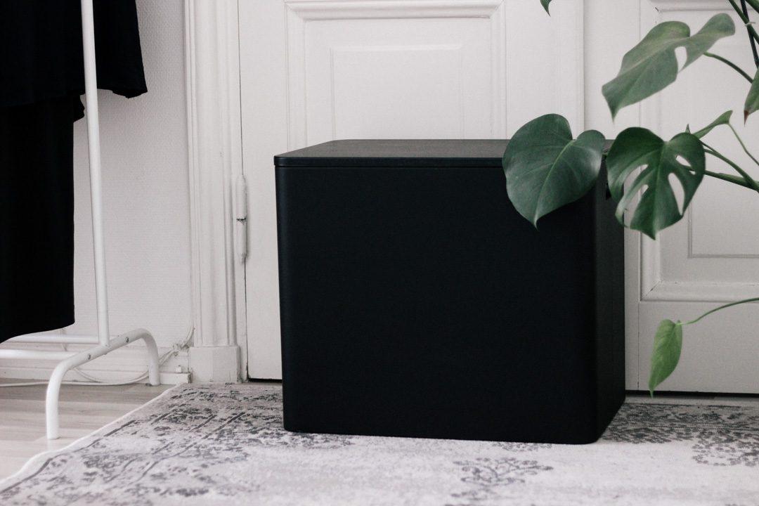 Niimaar ecosmol musta kierrätyslaatikko