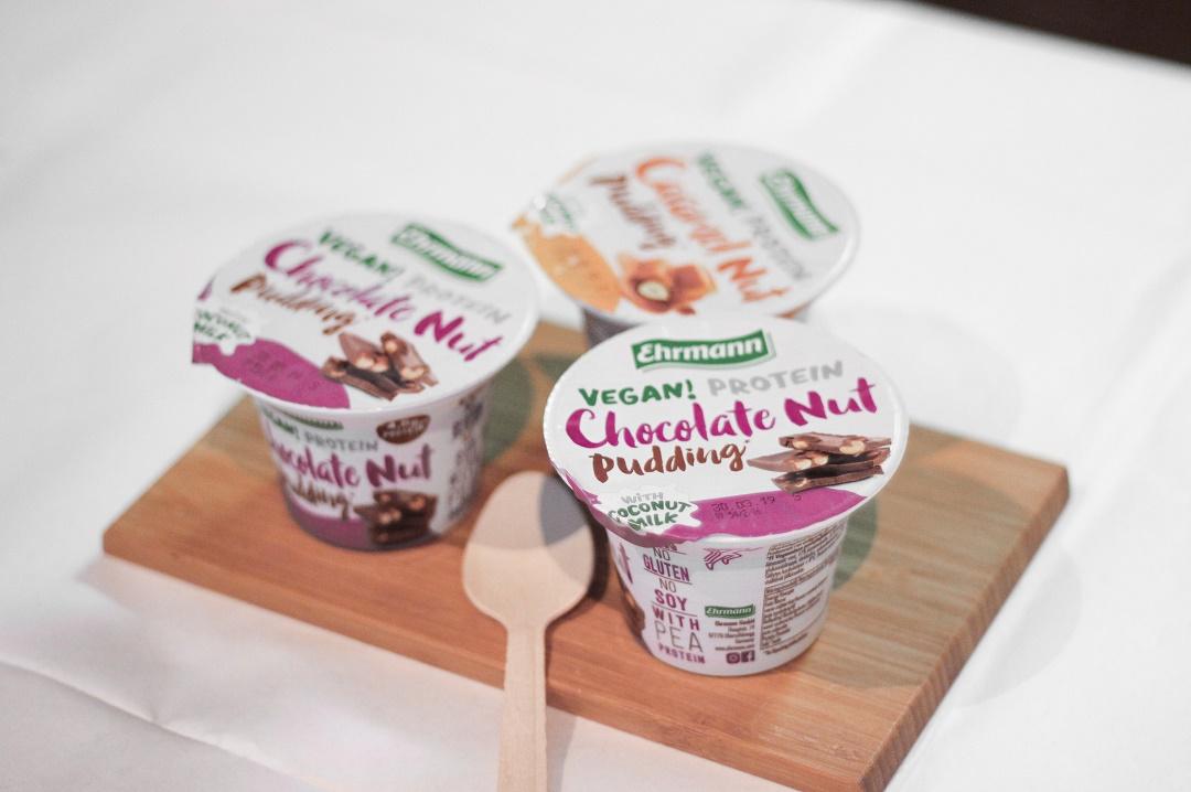 ehrman vegaani proteiinivanukas vegan protein pudding