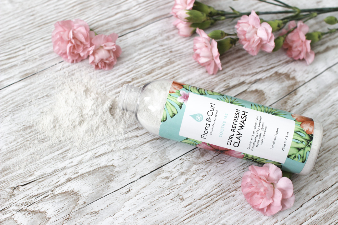 Flora & Curl curl refresh clay wash