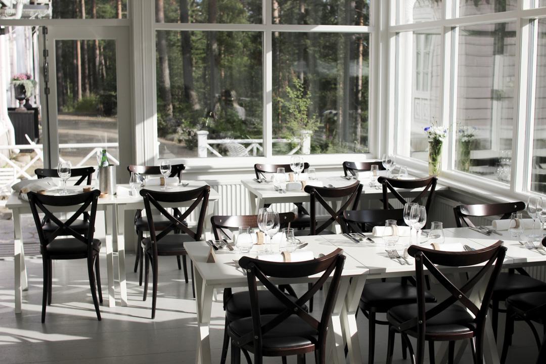 Hotelli Punkaharju ravintola